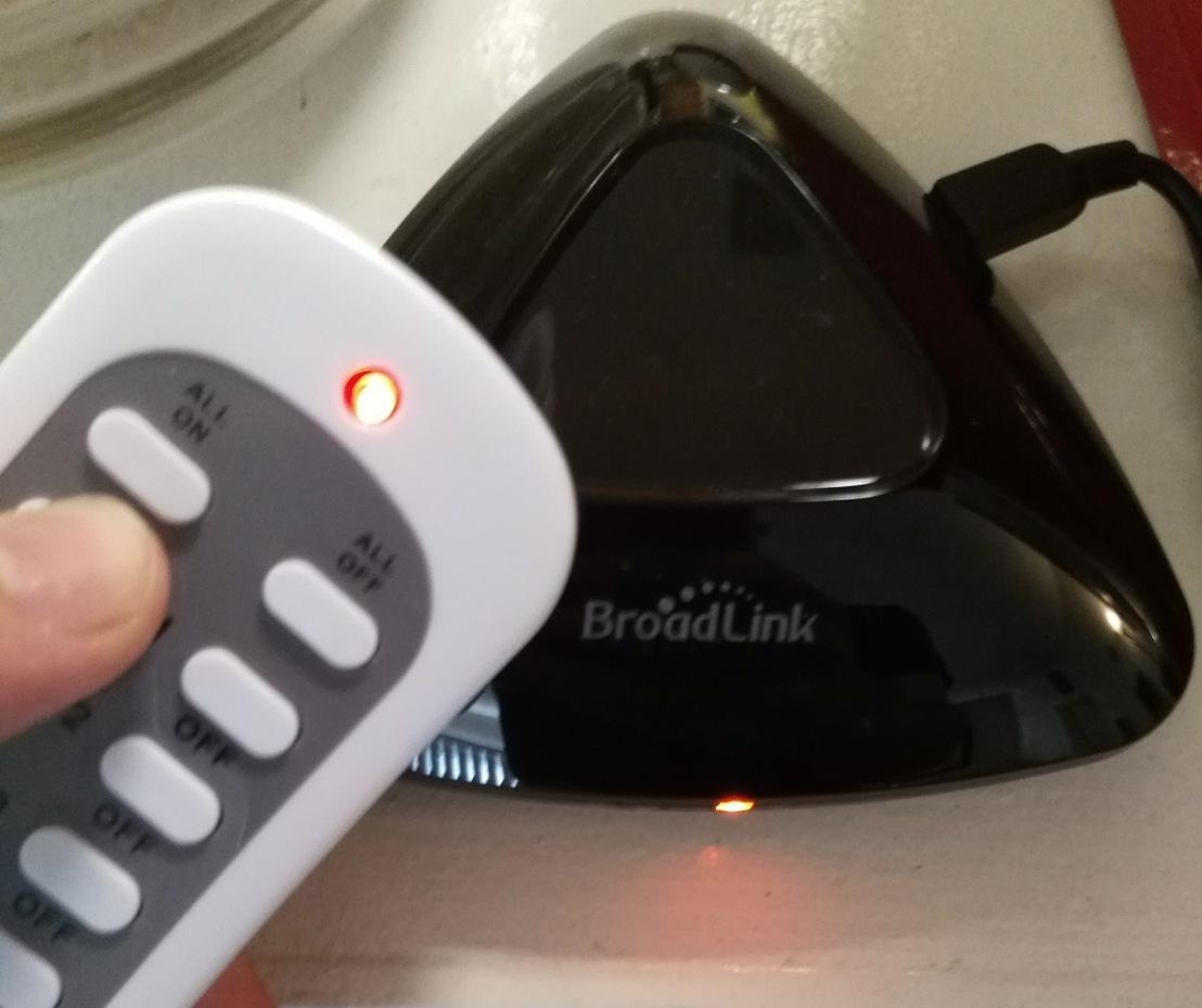 Teach Your BroadLinkRemote