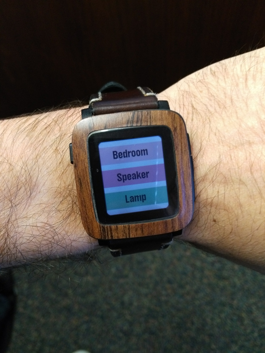How I Connected My Smartwatch To MySmart-Home