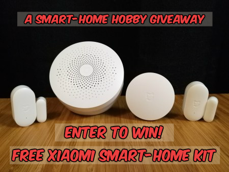 Win A Free Xiaomi Smart Home Kit from Smart-Home Hobby: OVER