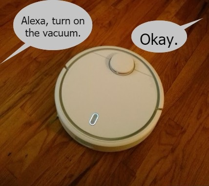 The Xiaomi Robot Vacuum and Alexa – Smart-Home Hobby